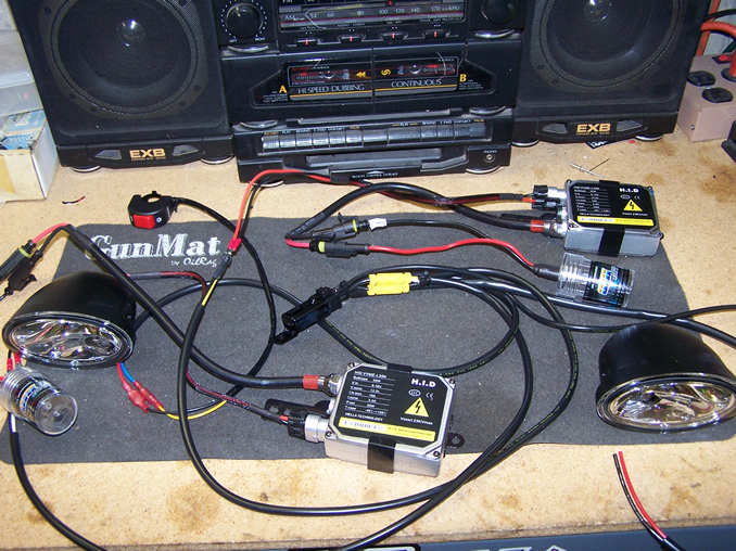 Eastern Beaver Relay Wiring Harness Kits : Installing hid driving and headlights etc adventure rider